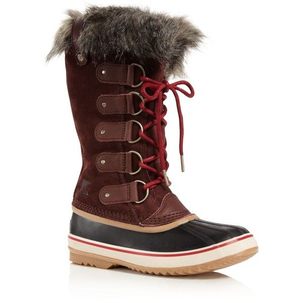 82073f3eac73 Sorel Joan of Arctic Cold Weather Boots ( 190) ❤ liked on Polyvore  featuring shoes