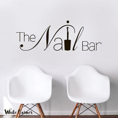 Rta1579 The Nail Bar Hair Salon By WhiteCornerDesigns On Etsy