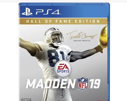 madden hall of fame edition ps4