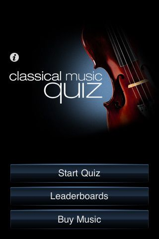 Classical Music Quiz App For Our Orchestra Students Education