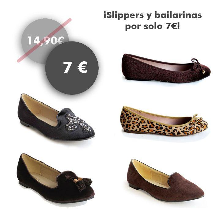 8613a7fb178a2 Buenos días!  slippers y  bailarinas por sólo 7€! Date un capricho    www.calzadospayma.com  shoelover