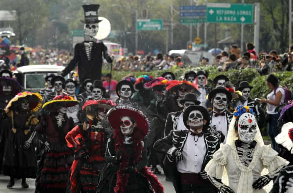 Mexico City S Day Of The Dead Parade 2018 In Pictures Mexico Day Of The Dead Day Of The Dead Artwork Festival Of The Dead