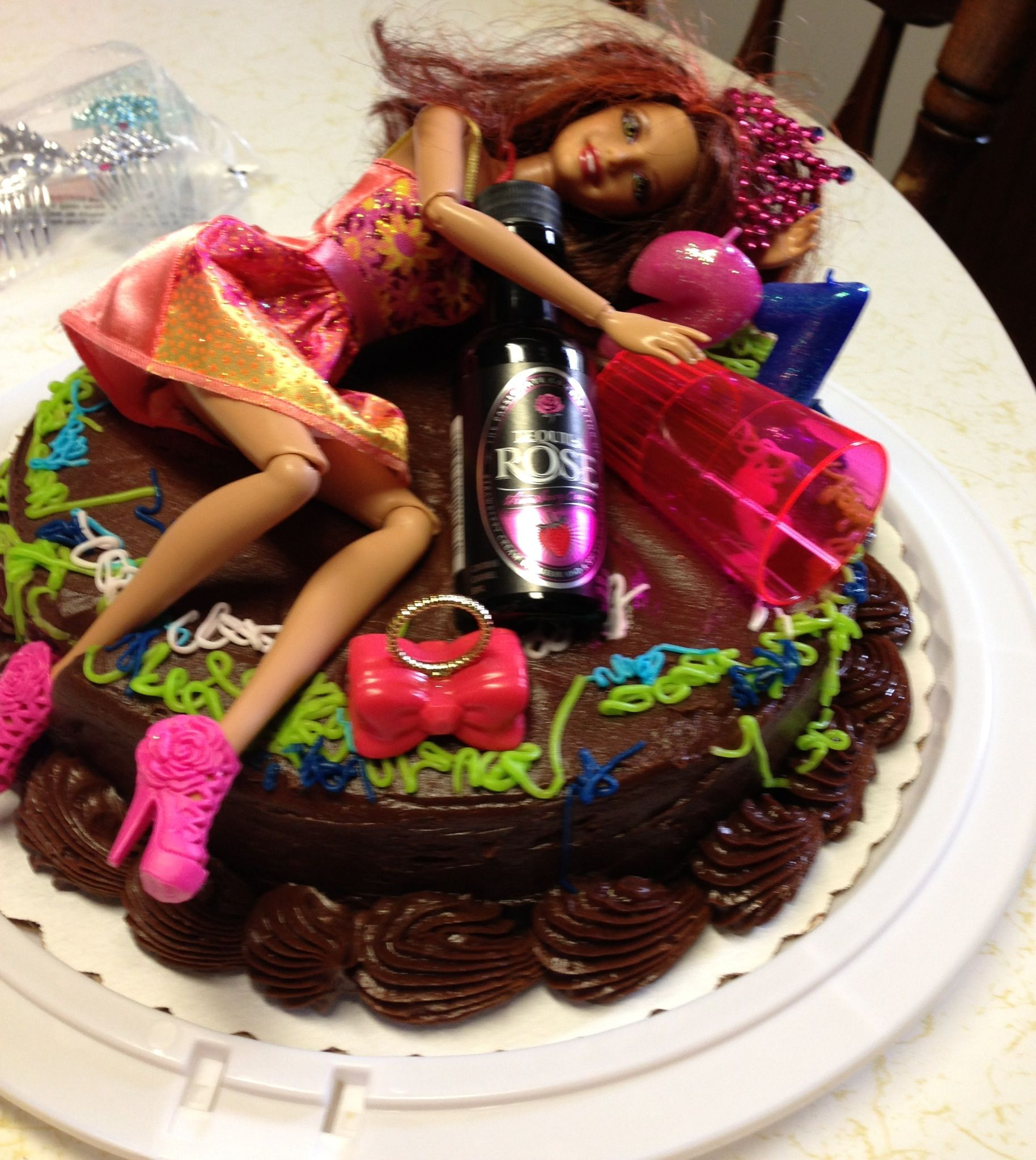 21st Birthday Cakewhite Girl Wasted Humor Pinterest 21st