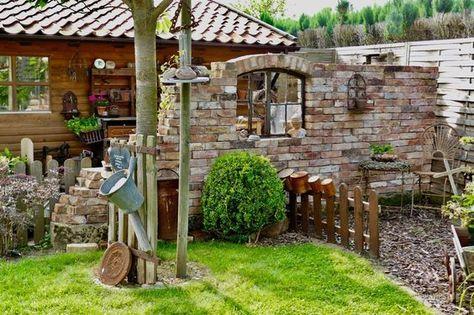 Zu Besuch bei Silke | Ruines et Terrasses