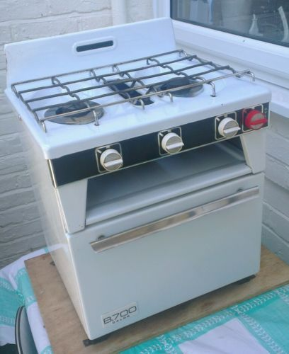 Calor Gas B700 Cooker For Clic Caravan Restoration 2 Hobs Grill Oven