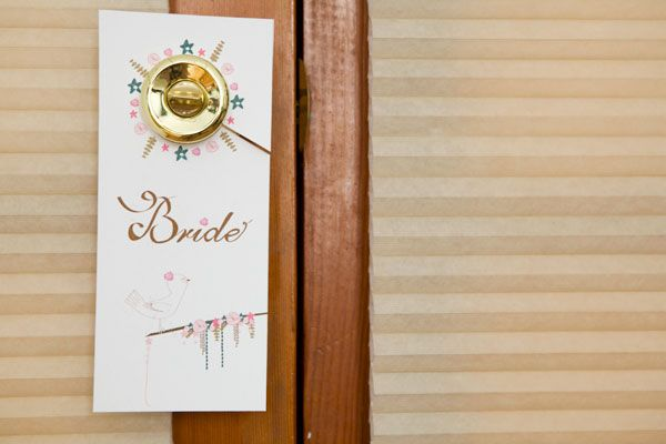 Printable Getting Ready Door Hangers  Free Wedding Templates