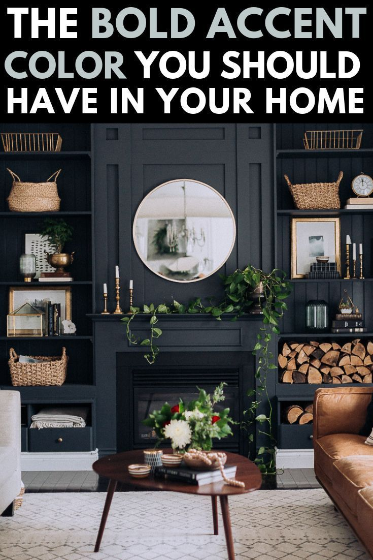 bold black accent wall ideas black accent walls on office accent wall color id=62992