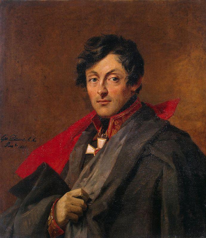 Dawe George - Portrait of Alexander I. Ostermann-Tolstoy (1770-1857) - GJ-7843 | da Faces of Ancient Europe