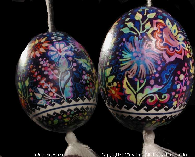 Ukrainian Easter Egg Pysanky PYS14067  by Iryna Vakh  from the Lviv  on AllThingsUkrainian.com