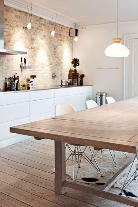 Minimalistisch und trotzdem gemütlich Kitchen Pinterest - küchen ohne hängeschränke