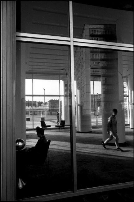 Rene Burri - Administrative building. West Berlin. 1964.