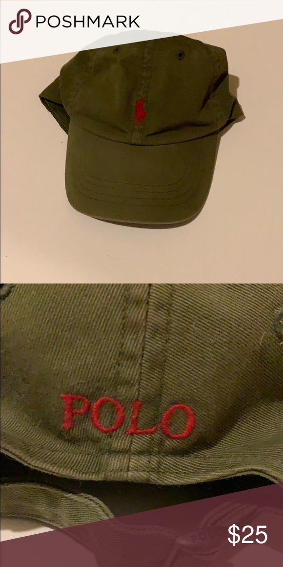 6da642e8bf719 Ralph Lauren polo hat Very good condition! Adjustable size Polo by Ralph  Lauren Accessories Hats