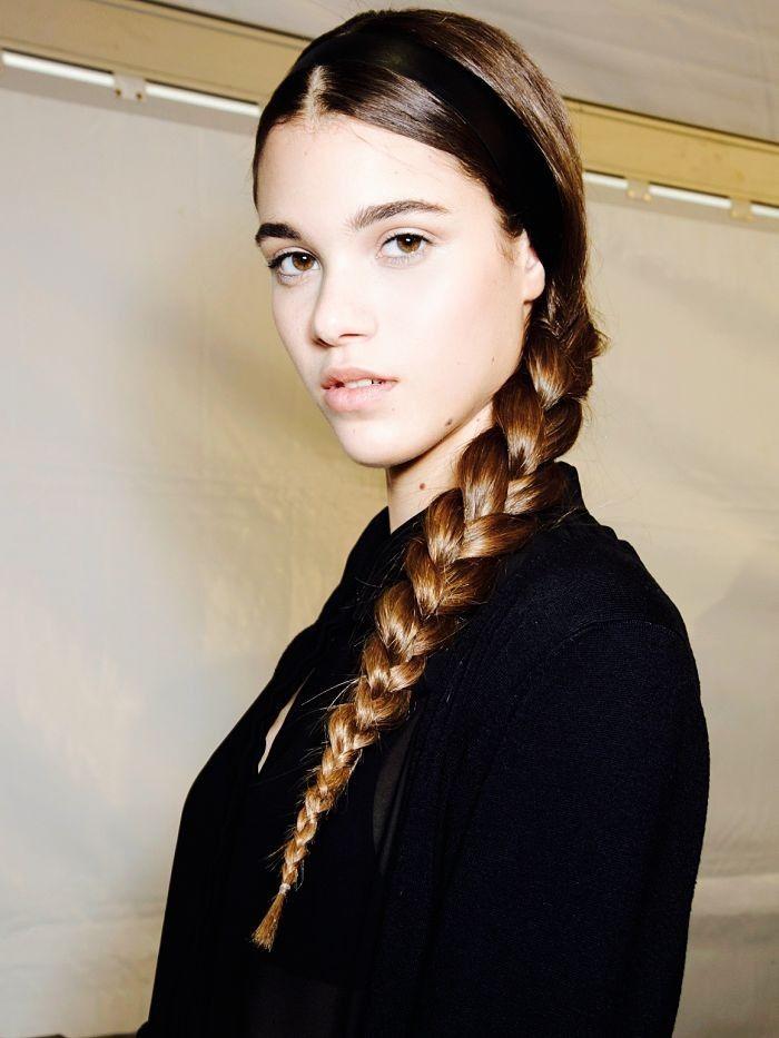 Sleek braids