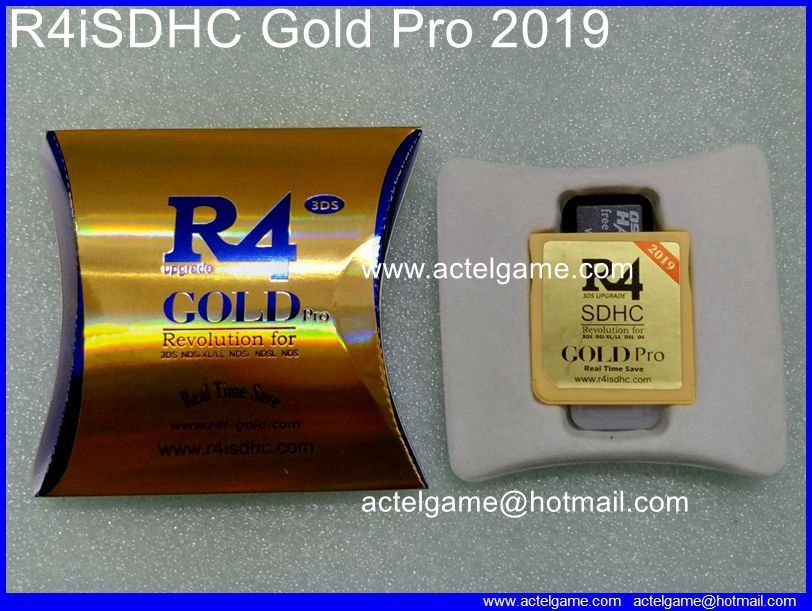 R4iSDHC the gold 2019 3DS flash card 3DS game card | Nintendo 3DS