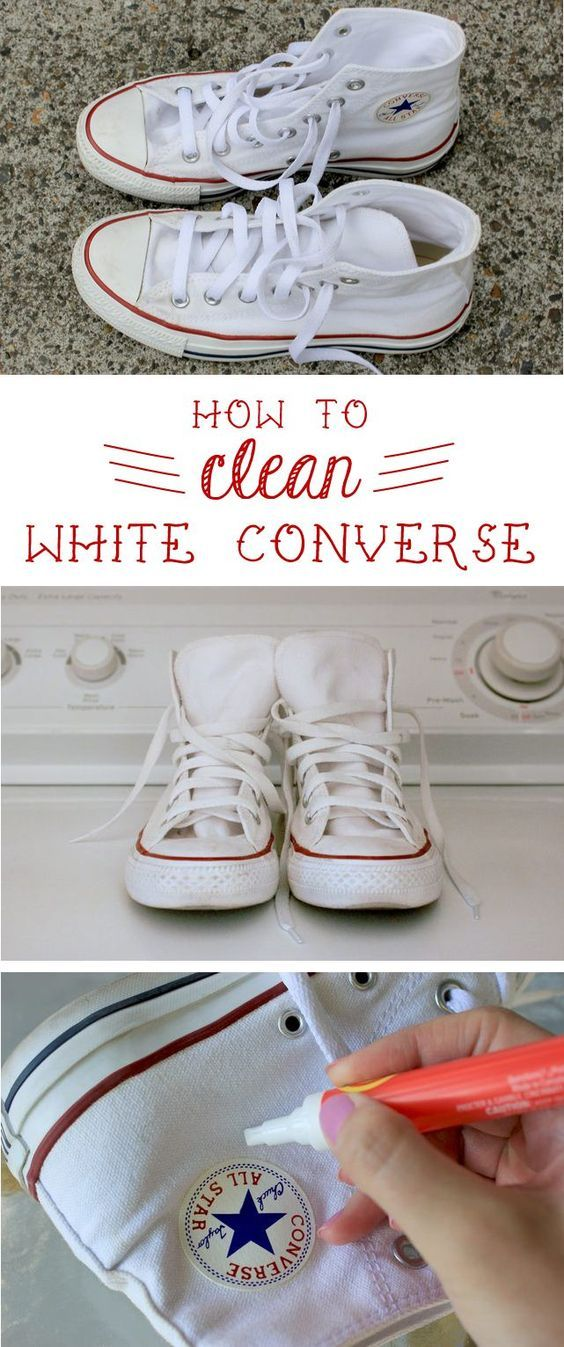 How to clean white converse, White
