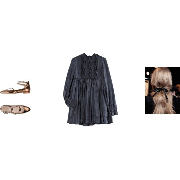 nunca faço nada à sexta-feira by thisisnotmyname on Polyvore featuring Karen Walker and Chloé