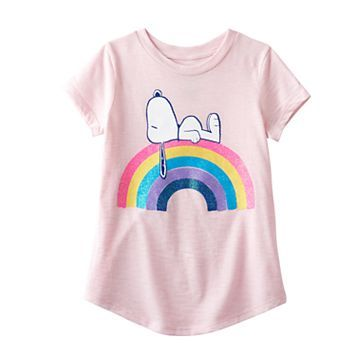 a8af511036f Girls 4-10 Jumping Beans® Peanuts Snoopy Rainbow Tee | Baby and ...