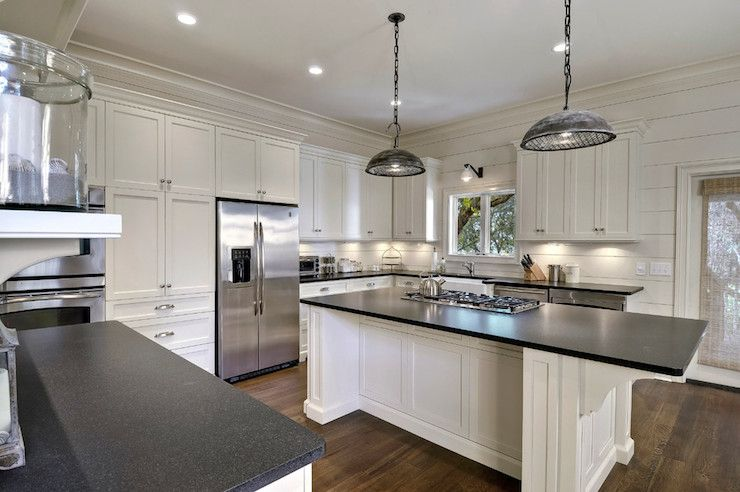 Leathered Granite Countertops Cottage Kitchen K And K Cabinets Leather Granite Kitchen Redesign Absolute Black Granite Countertops