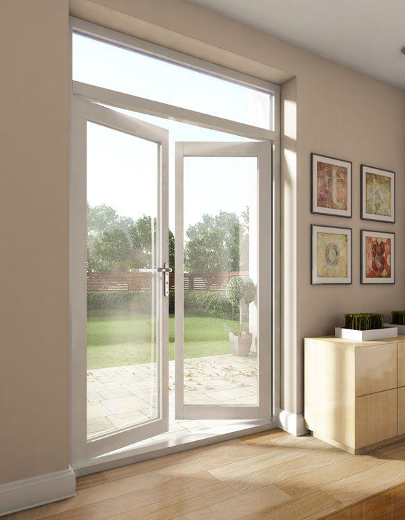Aluminio enmarcado puertas de entrada de cristal puertas - Puertas de entrada de aluminio ...