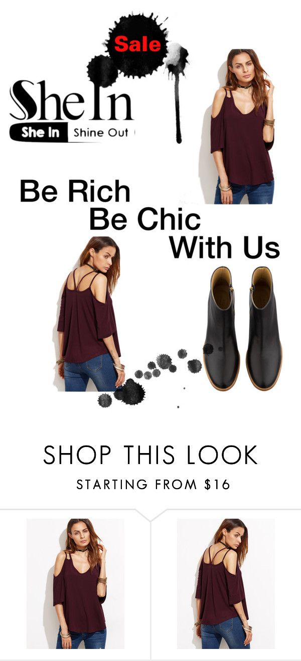 """Shein.com"" by natasaa-1 ❤ liked on Polyvore featuring A.P.C."