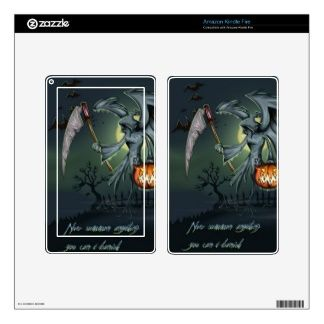 Halloween Grimm Reaper Skin For Kindle Fire