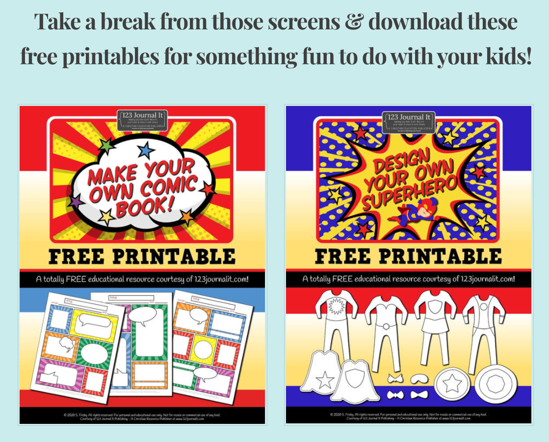Combo Make Your Own Comic Book And Design Your Own