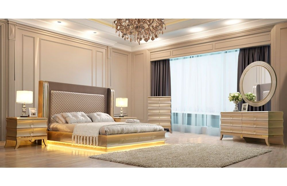 Benedict Luxury Modern Bedroom Collection (With images ...