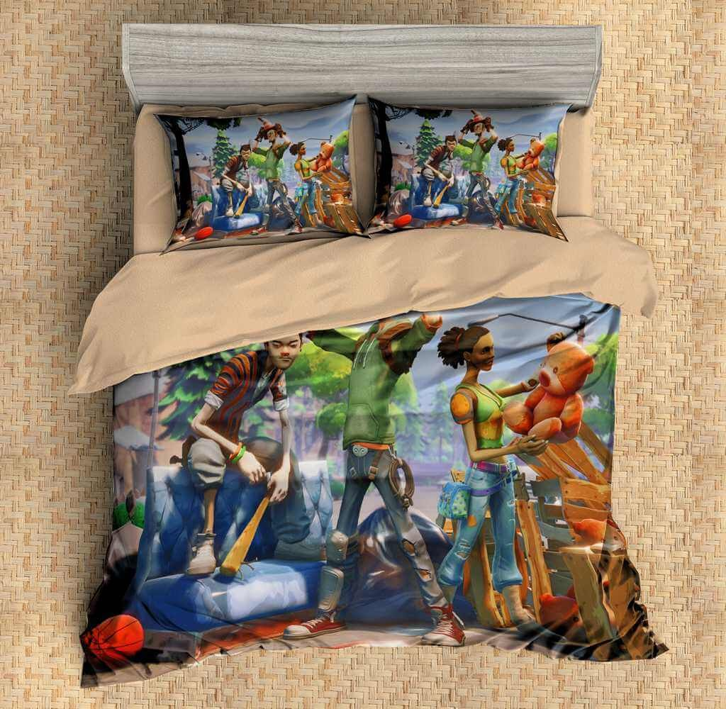 3d Customize Fortnite Bedding Set Duvet Cover Set Bedroom