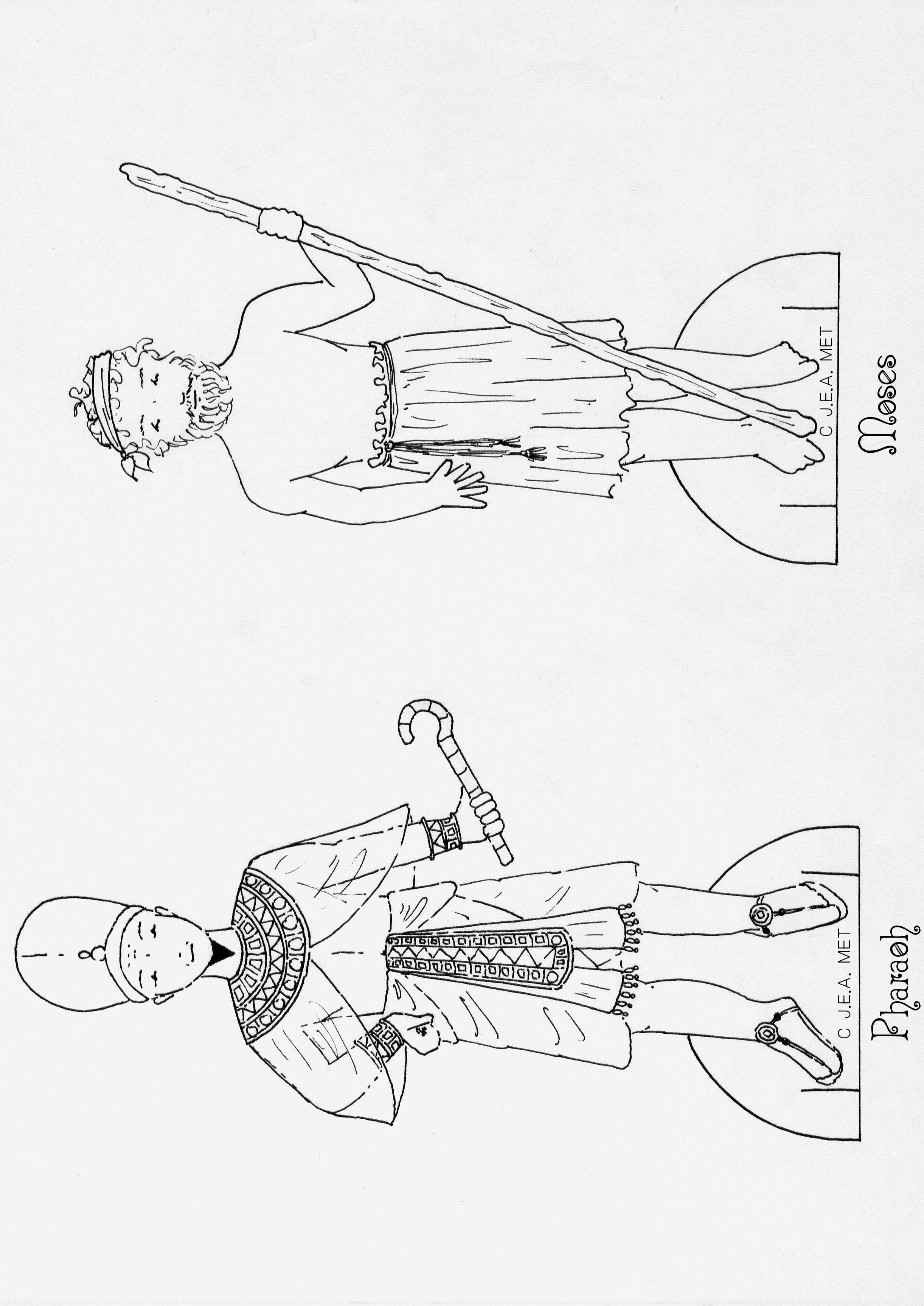 Children S Bible Lesson Moses Before Pharaoh