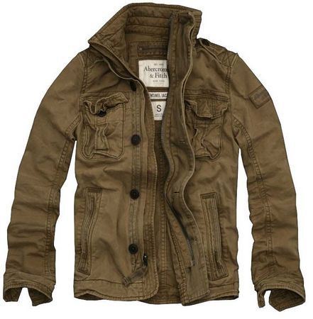 2a2fe2e3b5a New Abercrombie Jackets Cost Of Men Light Coffee   A UK