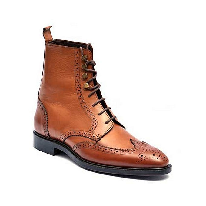 8a44801f2b59 Stafford Gunner Mens Cap Toe Leather Boots JCPenney
