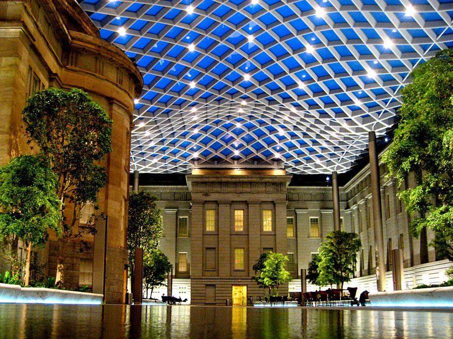 Kogod Courtyard Smithsonian American Art Museum Washington