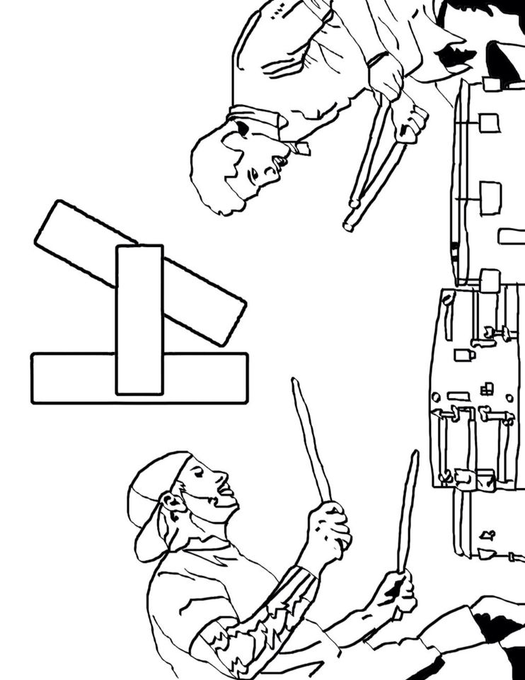pilot coloring pages - photo#25