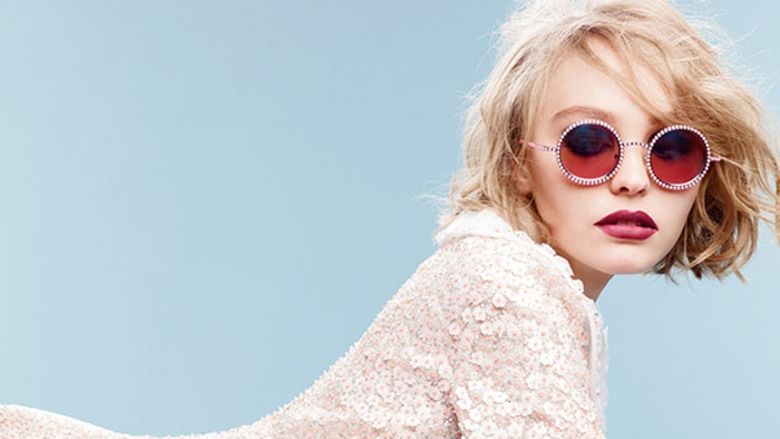 Chanel Taps Lily Rose Depp For A Campaign That's Retro Cool And Totally Gorgeous | Bustle