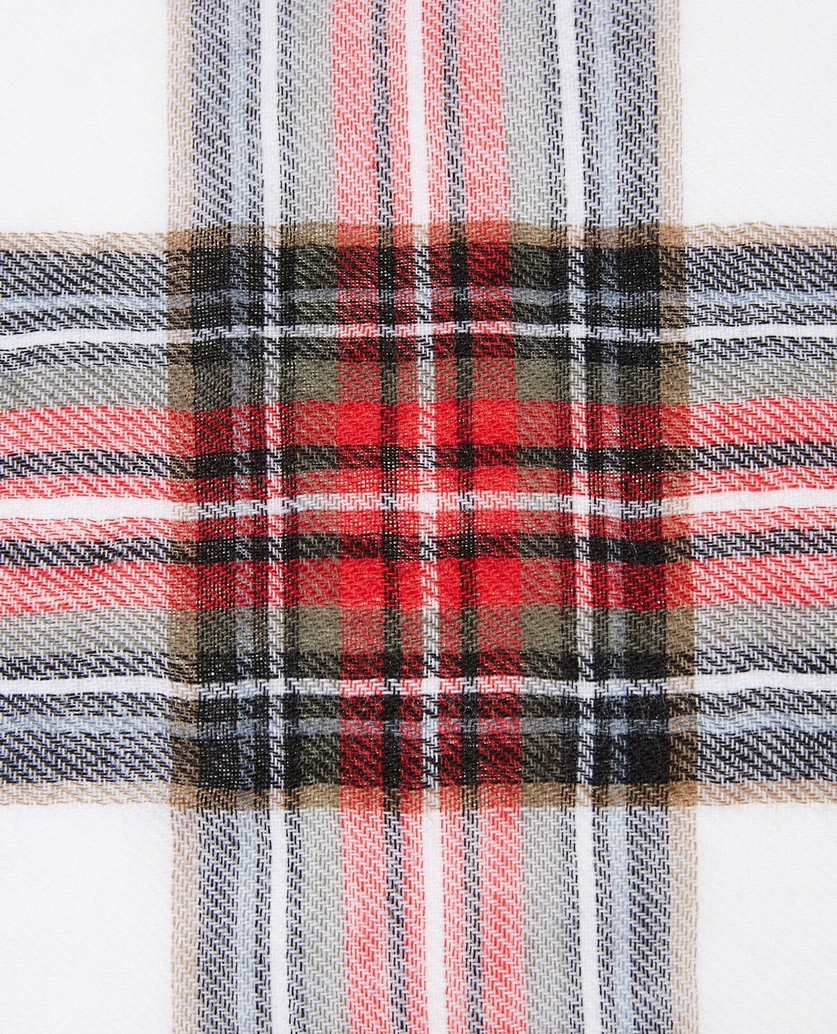 Checked wool scarf - Accessories - The Kooples