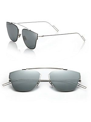 7f626c8ed4 Dior Homme 0204S 57MM Mirror Sunglasses - Grey