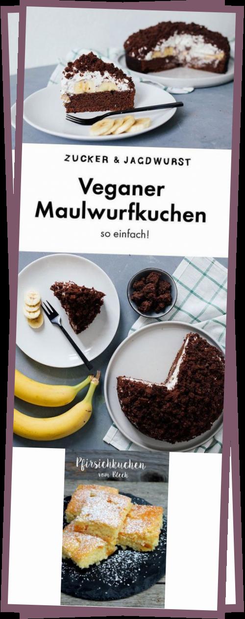 Veganer Maulwurfkuchen - ZuckerJagdwurst