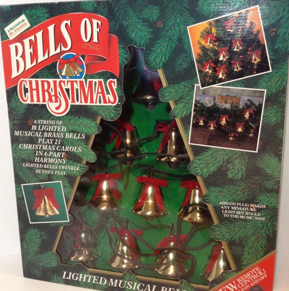 Details About Mr Christmas BELLS OF CHRISTMAS Musical Bell