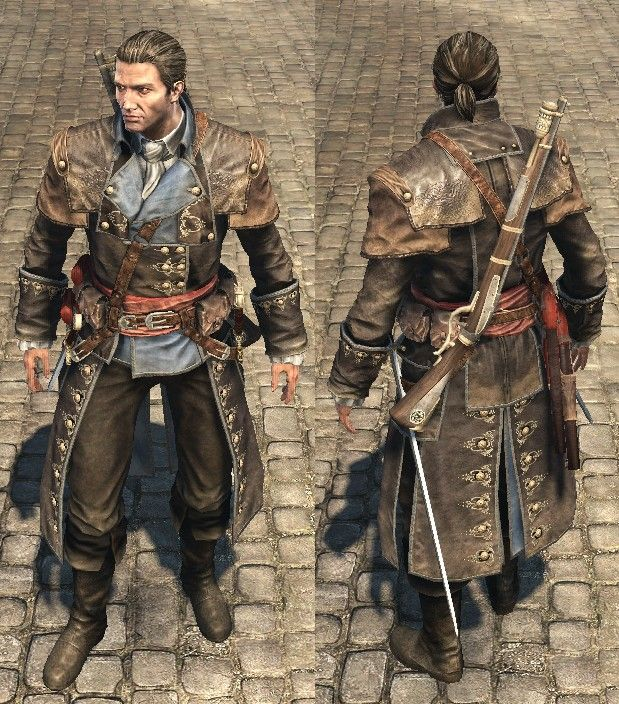 Shay Outfits Assassins Creed Rogue Assassins Creed Artwork