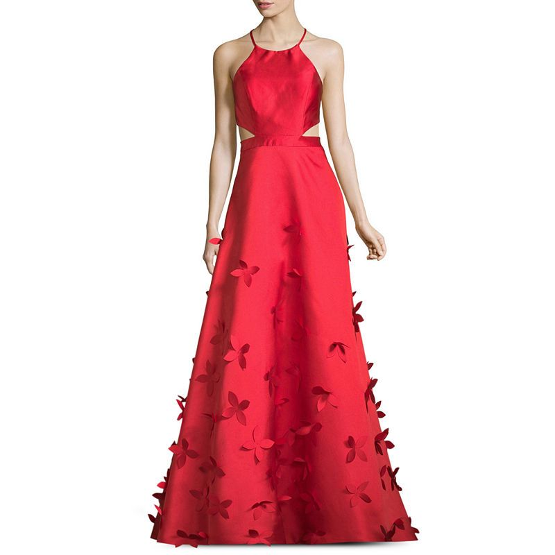 B. Darlin Sleeveless Embellished Ball Gown-Juniors   Gowns & Formal ...