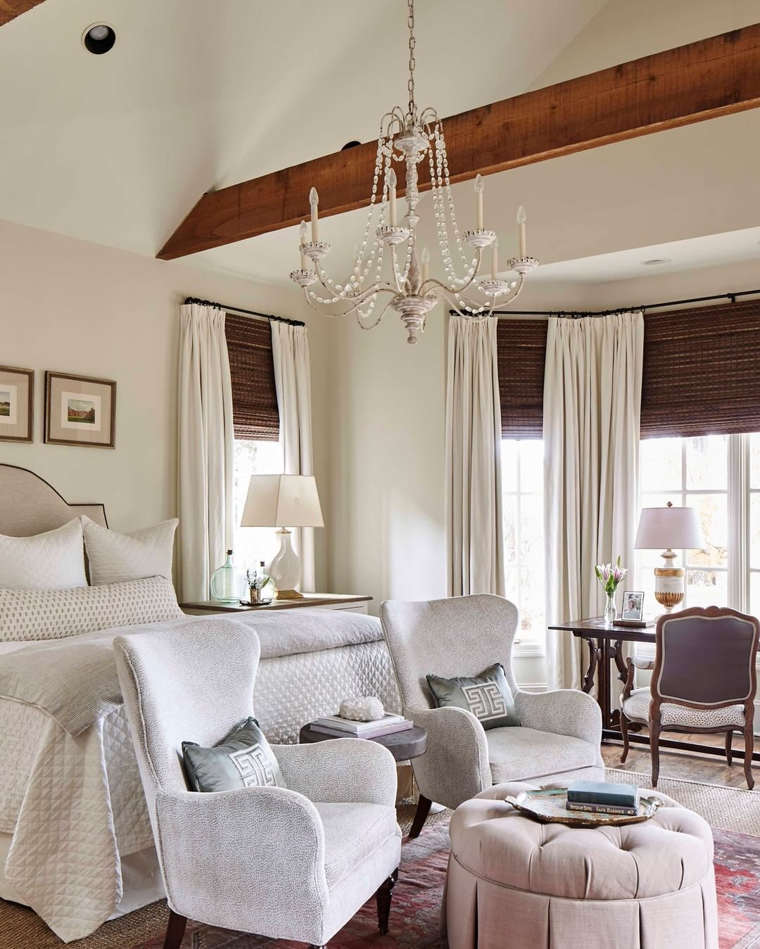 Ashley Gilbreath On Instagram Anyone Else Not Wanting To Get Out Of Bed On These Chilly Mornings Sce Master Bedrooms Decor Pretty Bedroom Dreamy Room