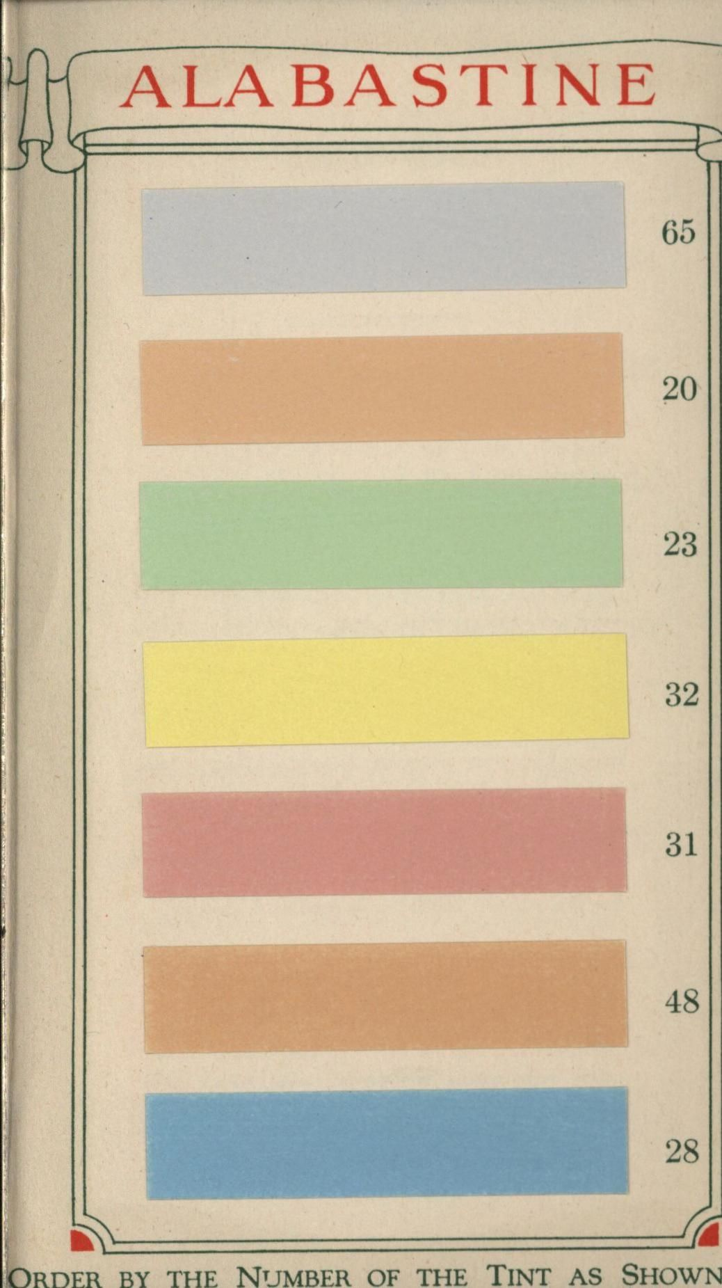 Alabastine water color for walls.1920s | I love color | Pinterest ...