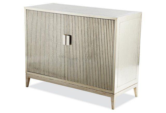 Baxter Ribbed Dresser German Silver Furniture Home