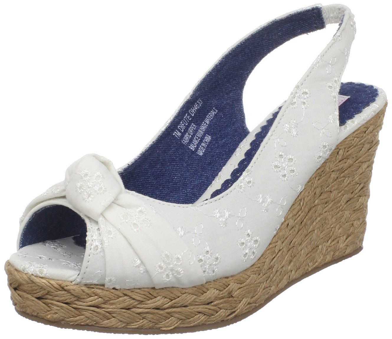 Comfy white wedge sandal with images white wedge