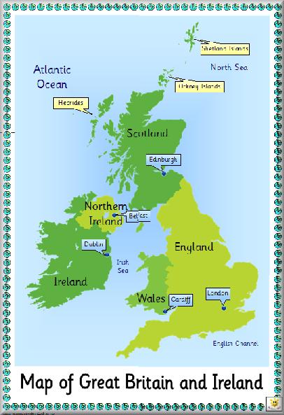 UK map  class 3  Pinterest  Kids education English and English