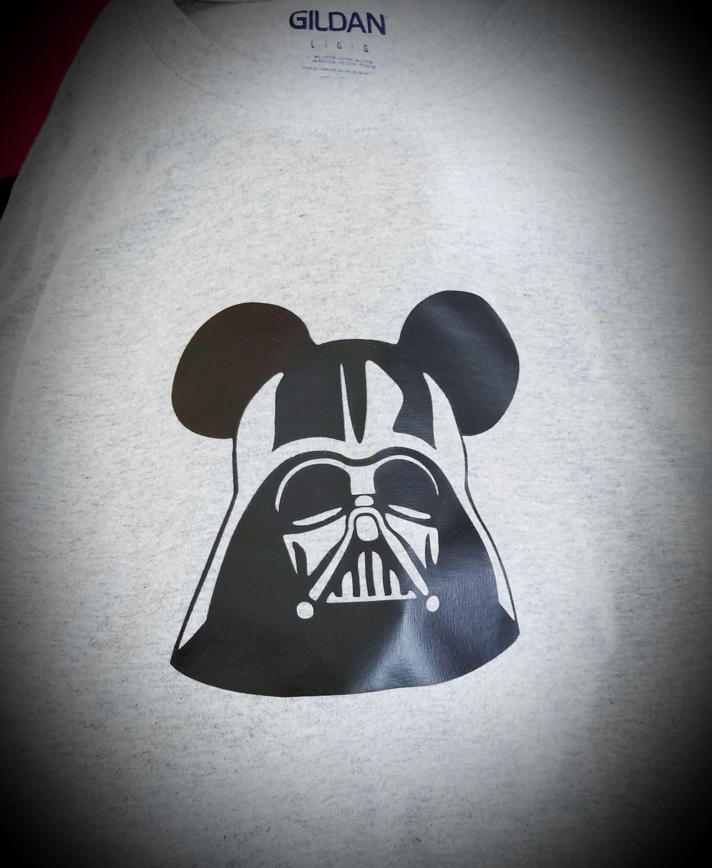 """Mickey """"Darth"""" Mouse Tshirt Darth, Diy cricut"""