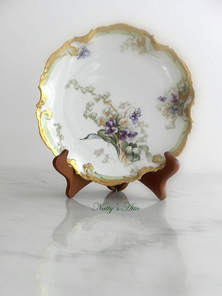 This is beautifully decorated Coronet Limoges from France, Hand ...
