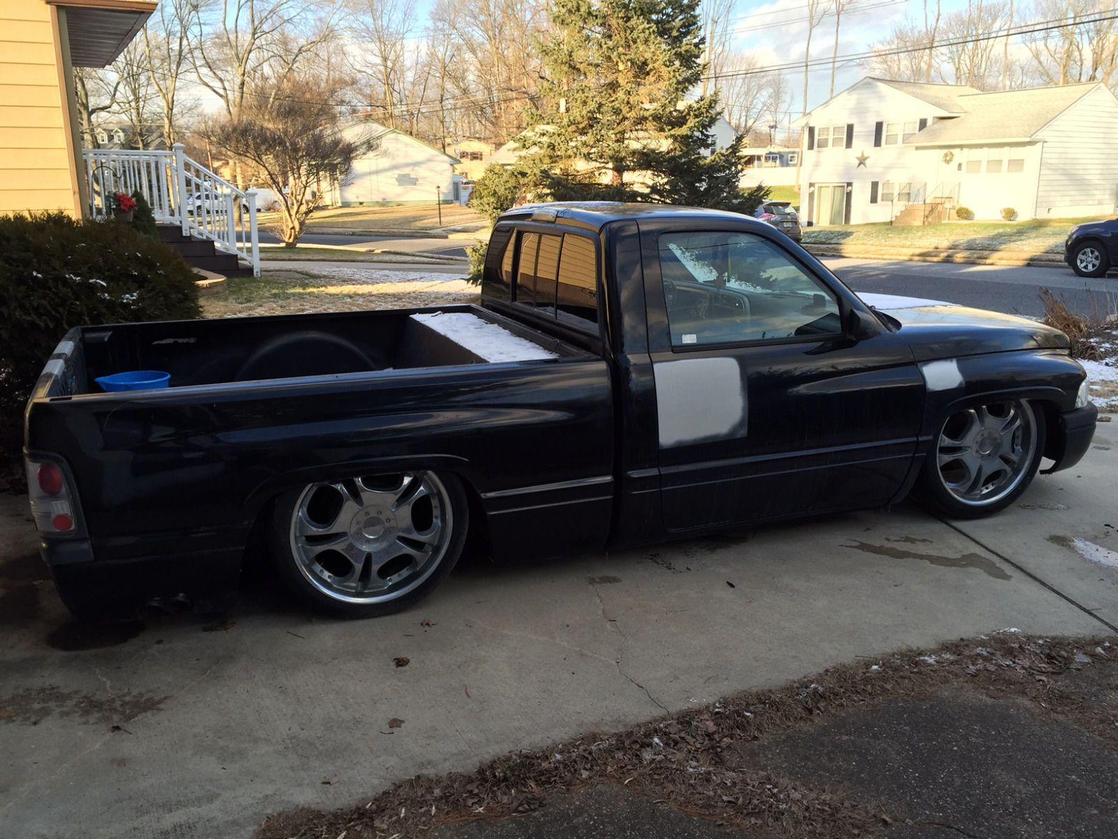 1997 Dodge Ram 1500 SST Bagged Shop Truck for sale Dodge