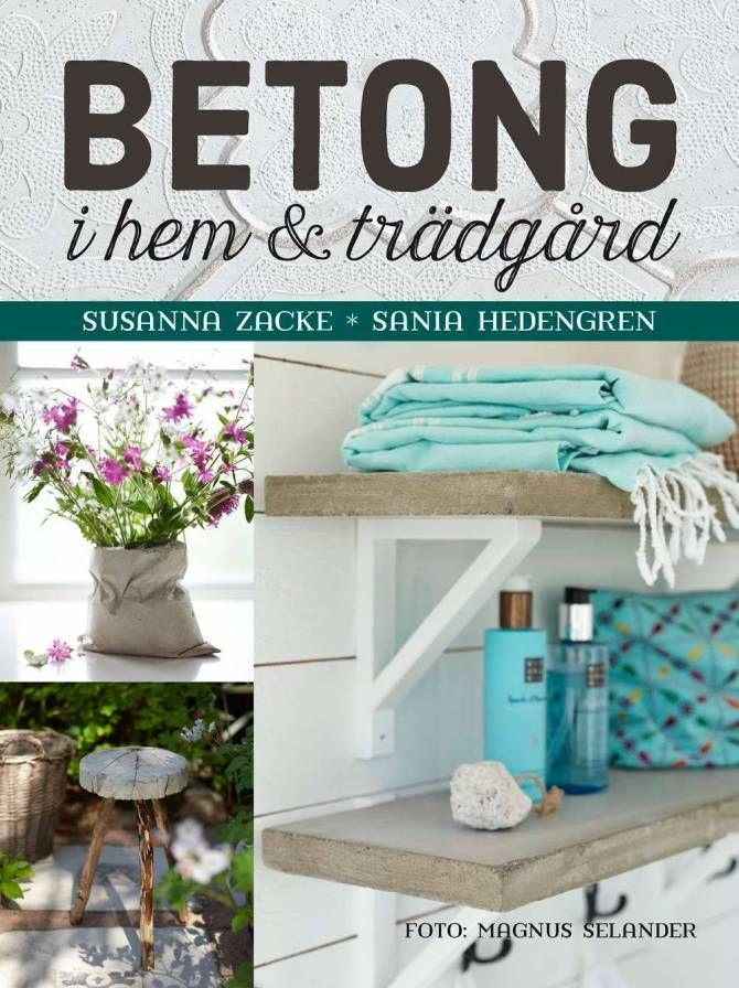 Boken Betong i hem & trädgård