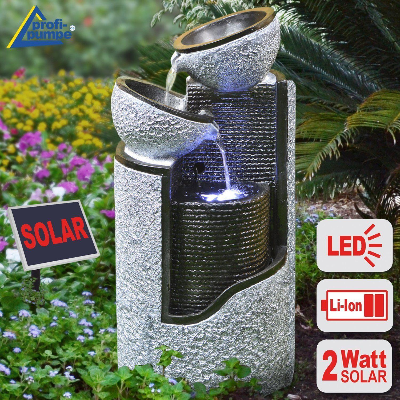 pin von gartengalaxie auf solarbrunnen solar springbrunnen gartenbrunnen springbrunnen und. Black Bedroom Furniture Sets. Home Design Ideas